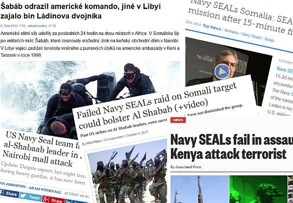 Novinové titulky SEAL