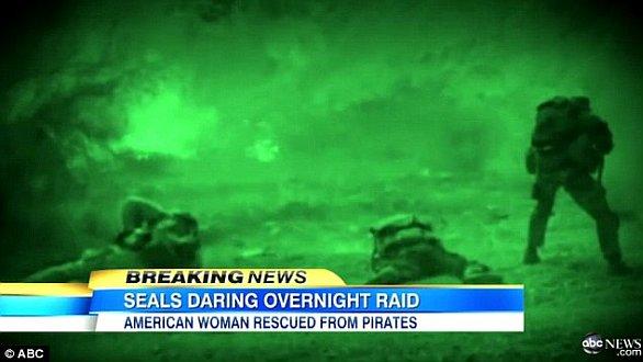 Foto: US Navy SEALs v boji, ilustrační záběry televize ABC / YouTube, ABC