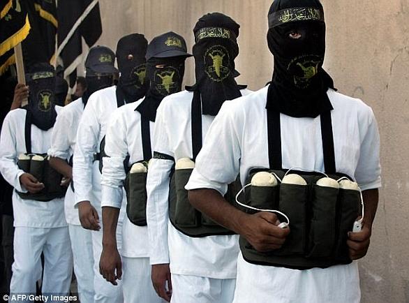 Foto: Sebevražední atentátníci; ilustrační foto /AFP