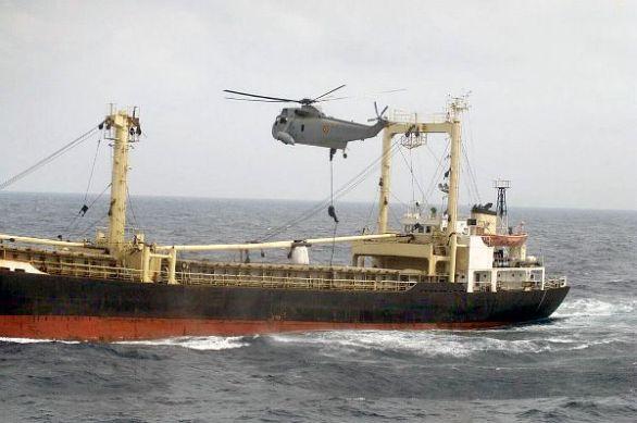 Foto: Výsadek španělských speciálních sil na loď So-San. / Armada Española