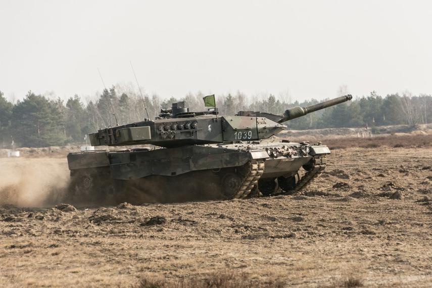 Foto: Leopard 2A5 polské armády. / MON