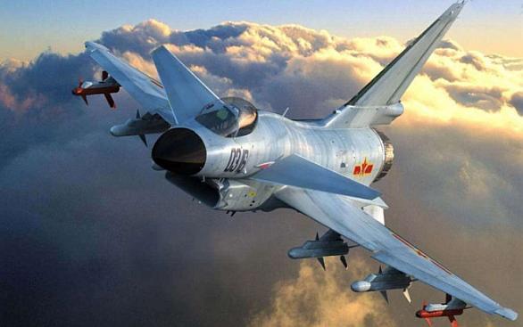 Foto: Izrael pomohl Číně také s vývojem stíhačky  Chengdu J-10 / čínský internet