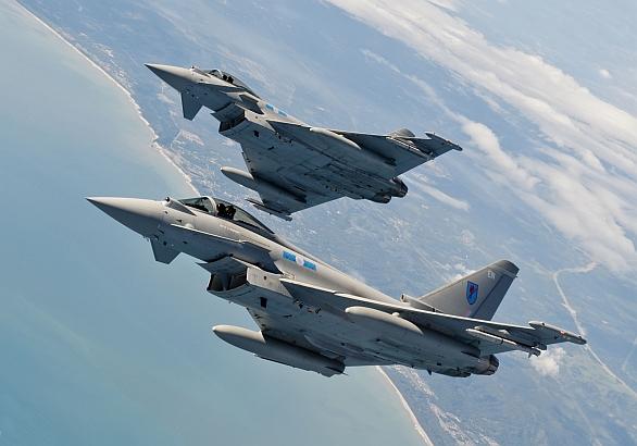 Foto: Nejvýkonějším evropským stíhačem je Eurofighter Typhoon. / Eurofighter Jagdflugzeug GmbH