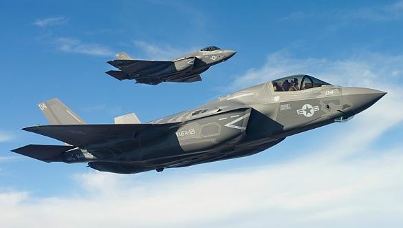 Foto: Jedním ze zvažovaných letounů je i F-35 Lightning II. Cena za nákup a provoz je však enormní; ilustrační foto / Public Domain