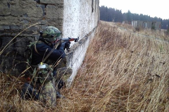 Strakoničtí vojáci bránili Ondřejov