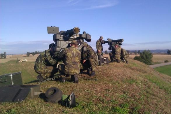 Strakoničtí vojáci na cvičení Ramstein Rover
