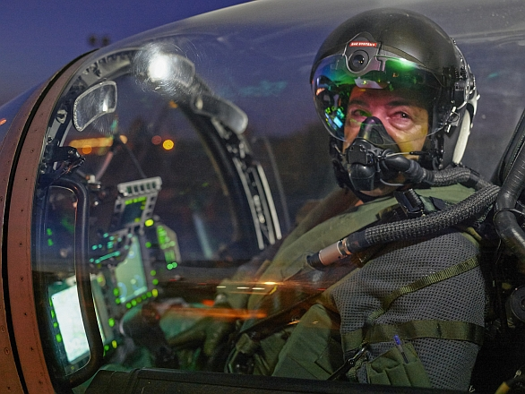 Foto: Striker II HMD (Helmed Mounted Display). / BAE Systems