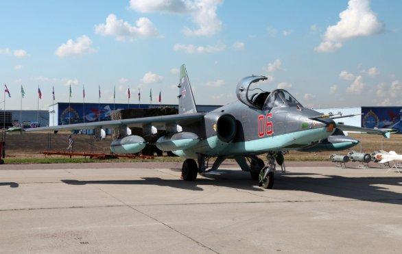 Foto: Su-25SM; větší foto / Vitalij V. Kuzmin; C BY-SA 3.0