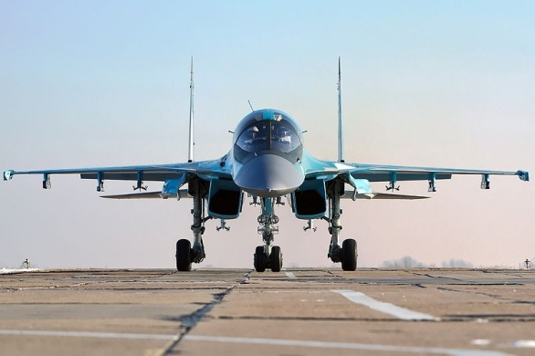 "Foto: Suchoj Su-34 ""Fullback"" / Autor: Alex Beltyukov, Creative Commons Attribution-Share Alike 3.0 Unported"