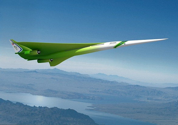 Nadzvukové letadlo