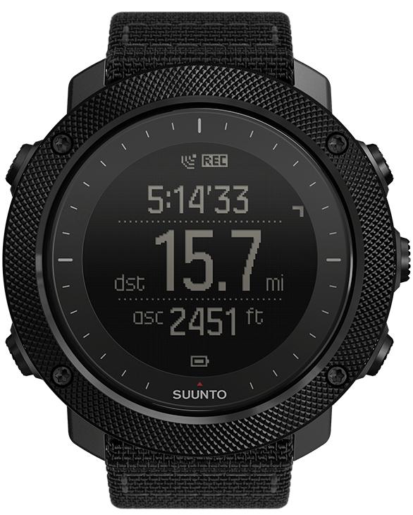 8e97f82ca Mezi příjemné funkce hodinek patří teploměr, výškoměr, kompas, barometr  nebo indikace východu/západu Slunce. Ciferník je chráněn minerálním  sklíčkem.
