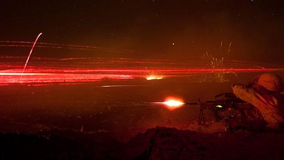 """Foto: """"Fire fight"""" v Afghánistánu; ilustrační foto / US Army"""