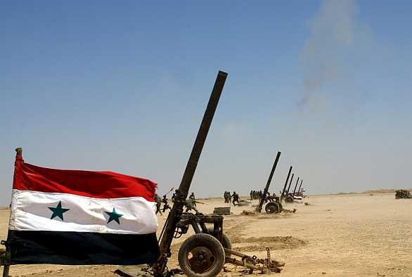 syrské minomety