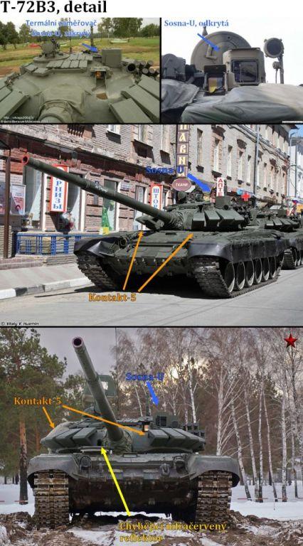 Foto: T-72B3 v detailu. / Archív autora