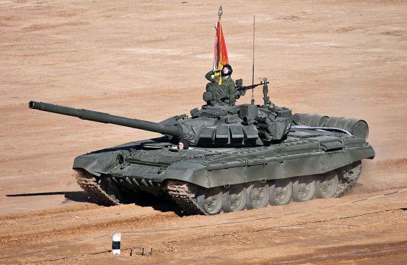 Foto: T-72B3, větší foto / Vitaly V. Kuzmin, CC BY-SA 3.0