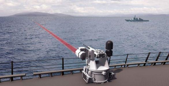 zbraňová laserová stanice Mk 38 TLS