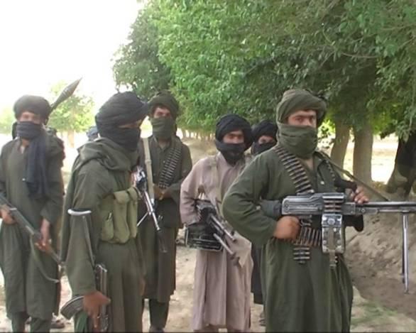 Foto: Bojovníci Talibanu. / Ariana News