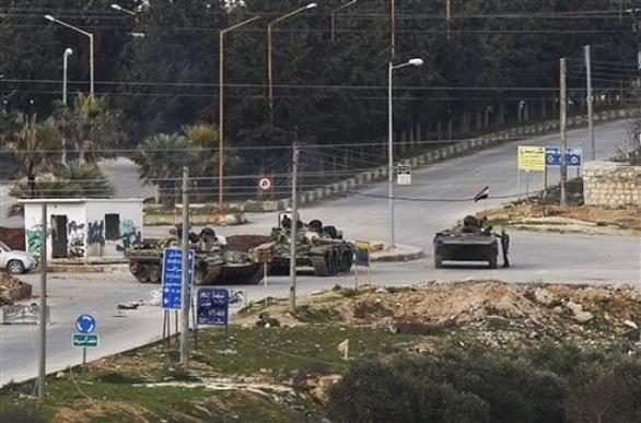 syrský tank