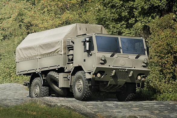 Foto: Vysoce mobilní těžké nákladní vozidlo T 815-7L0R59 19 257 4x4.1R . / TATRA TRUCKS a.s.