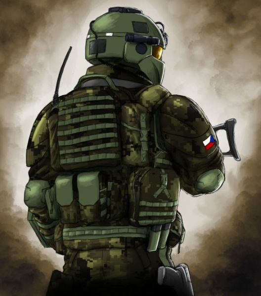 Český voják budoucnosti