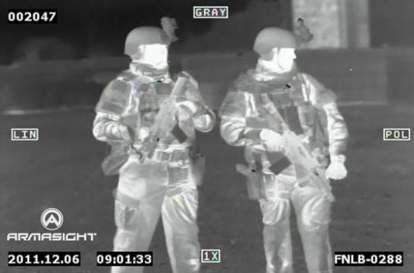 Vojenská termokamera