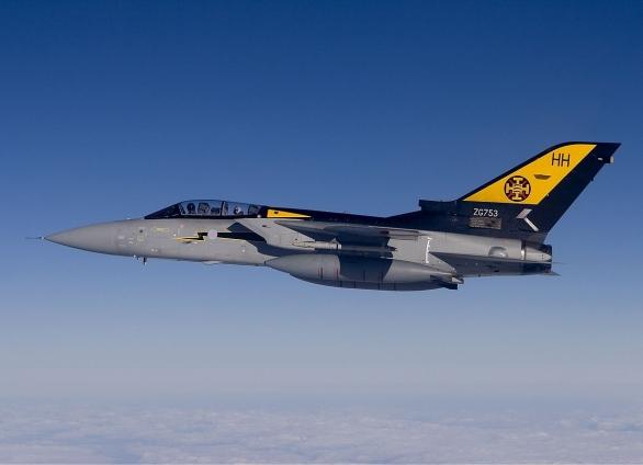 Foto: Panavia Tornado F3 Královského letectva; větší foto / Chris Lofting, GFDL 1.2