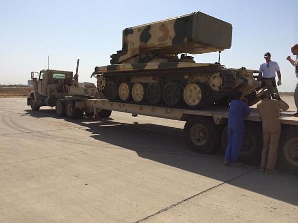 Ruský raketomet TOS-1A Soltsepek pro Irák