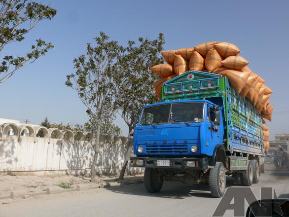Afghánistán KAMAZ