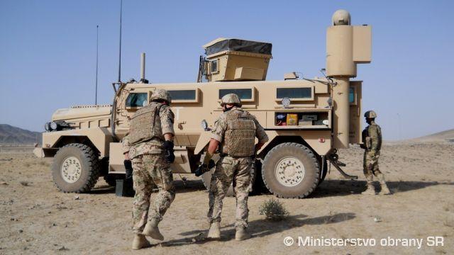 Slovensko Afghánistán