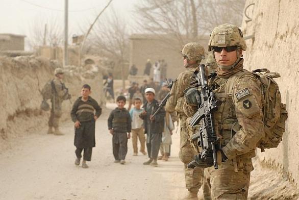 Patrola v Afghánistánu