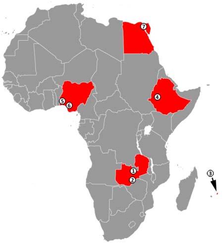 Čínské ekonomické zóny v Africe