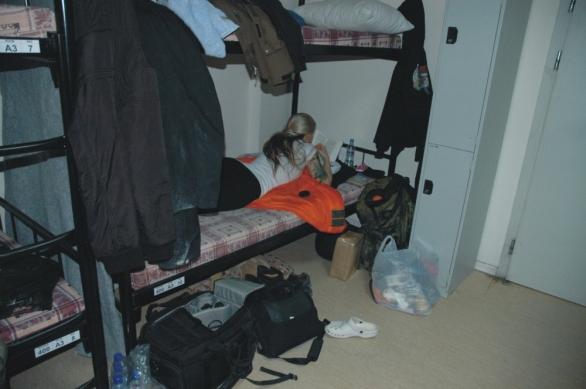 Kolegyně musela postel na KAIA obložit vybavením pro natáčení