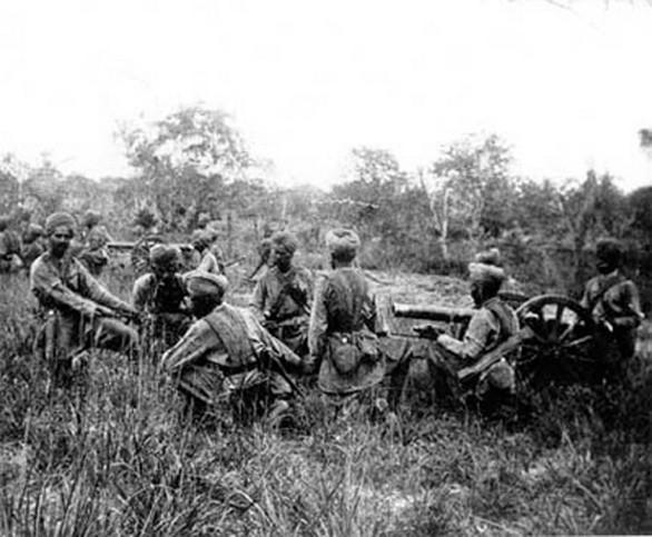 Indičtí vojáci 1947