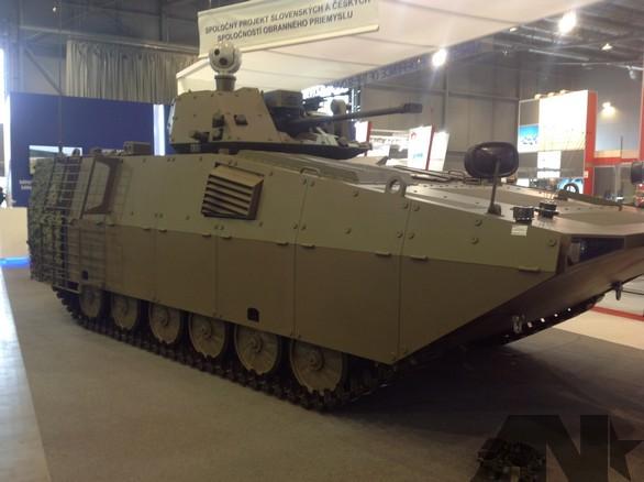 modernizované vozidlo BVP-M2 SKCZ
