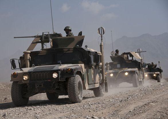 Afghánistán armáda