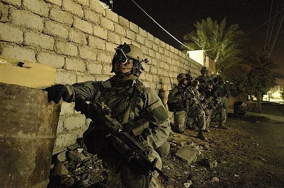 Američtí Rangers v Iráku