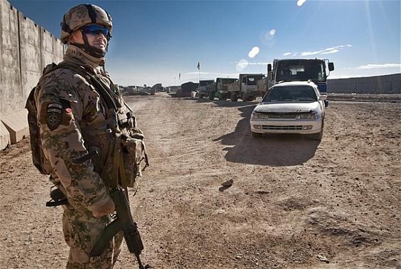 Slovesnká armáda v Afgánistánu