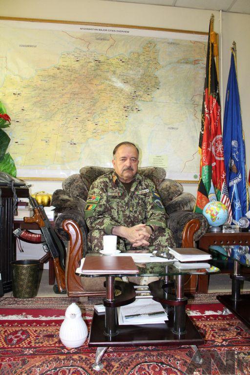 Foto: Ná základně afghánských vzdušných sil / Jan Maršálek