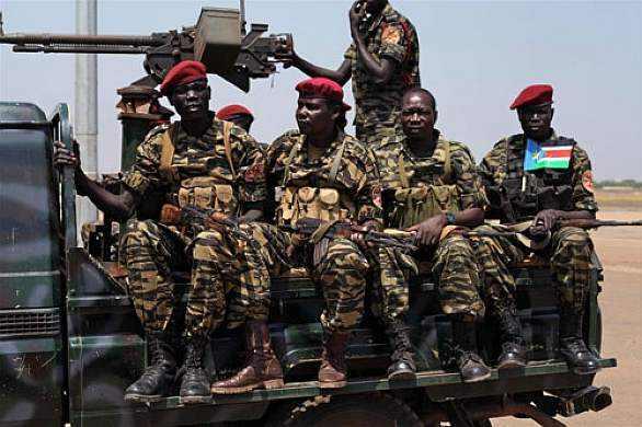 Vojáci Jižní lidové osvobozenecké armády