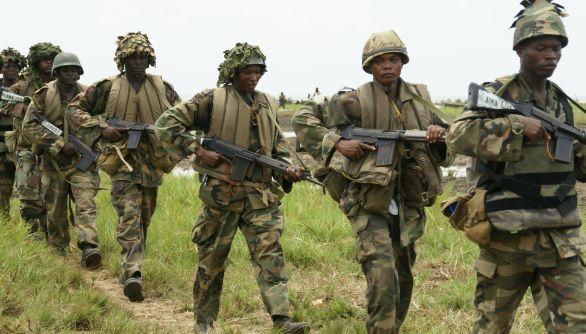 Nigerijští vojáci