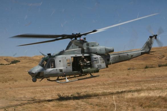 Foto: Jeden z hlavních kandidátů - UH-1Y Venom; větší foto / Public Domain