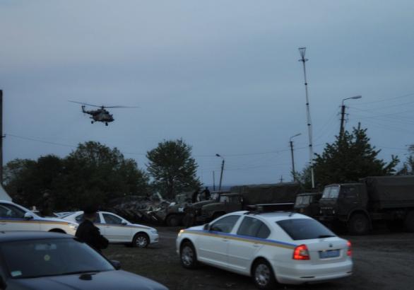 Sestřel vrtulníků na Ukrajine