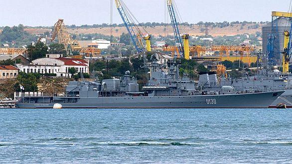 Ukrajinská fregata třídy Krivak