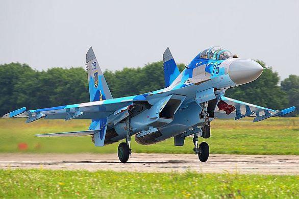 Ukrajinský Su-27