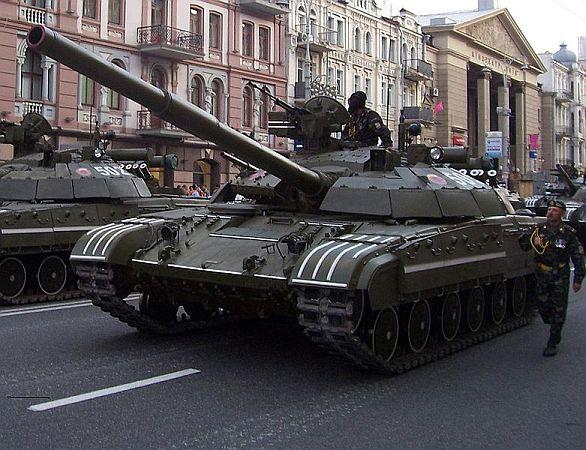 Ukrajinský T-64BM