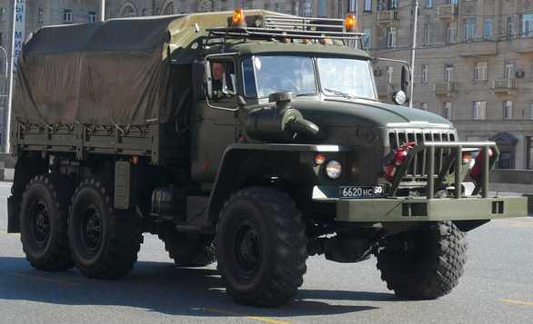 Foto: Nákladní automobil Ural 4320; větší foto / Stanislav Kozlovski, CC BY-SA 3.0