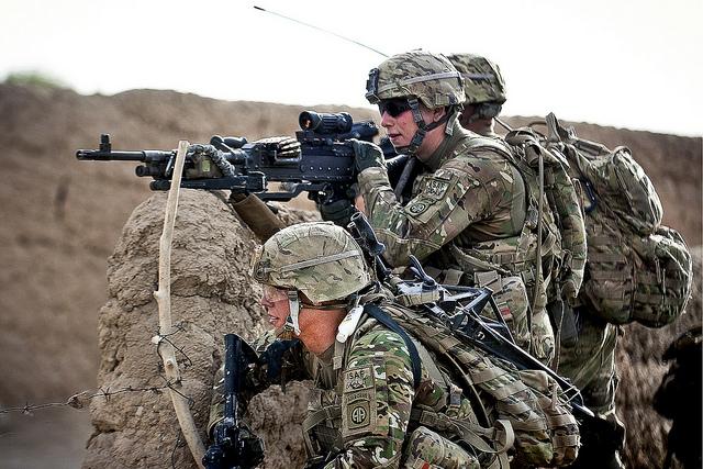 Foto: Američtí vojáci v Afghánistánu; ilustrační foto / US Army