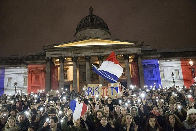 Foto: Shromáždění na podporu Francie v Londýně; ilustrační foto / Christiaan Triebert, CC BY 2.0