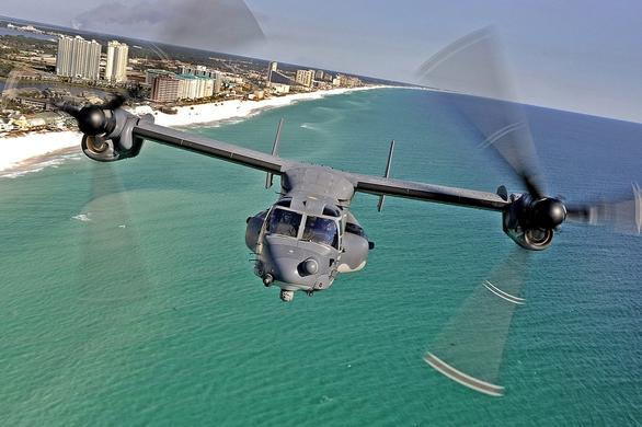 Foto: V-22 Osprey; větší foto / Public Domain