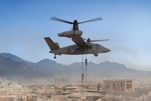 Foto: Vrtulník poloviny 21. století podle Bell Helicopter. / Bell Helicopter